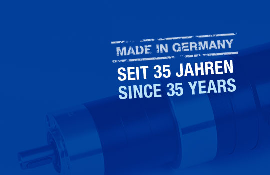 Made in Germany seit 35 Jahren